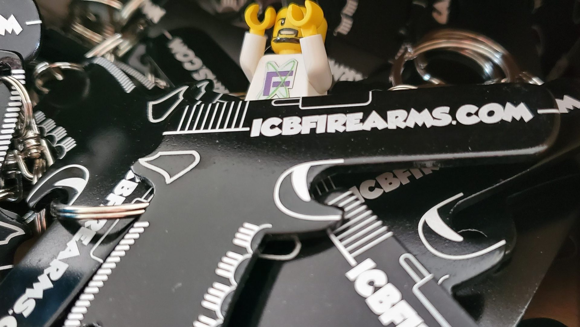 ICB Firearms - Gun Key chain Bottle Opener Lego Photo 06