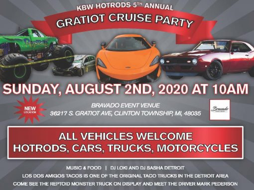 Kreative Body Werks – 2020 Gratiot Cruise Flyer