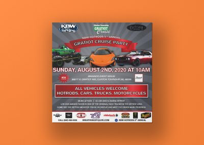 Kreative Body Werks - 2020 Gratiot Cruise Flyer Mockup 04