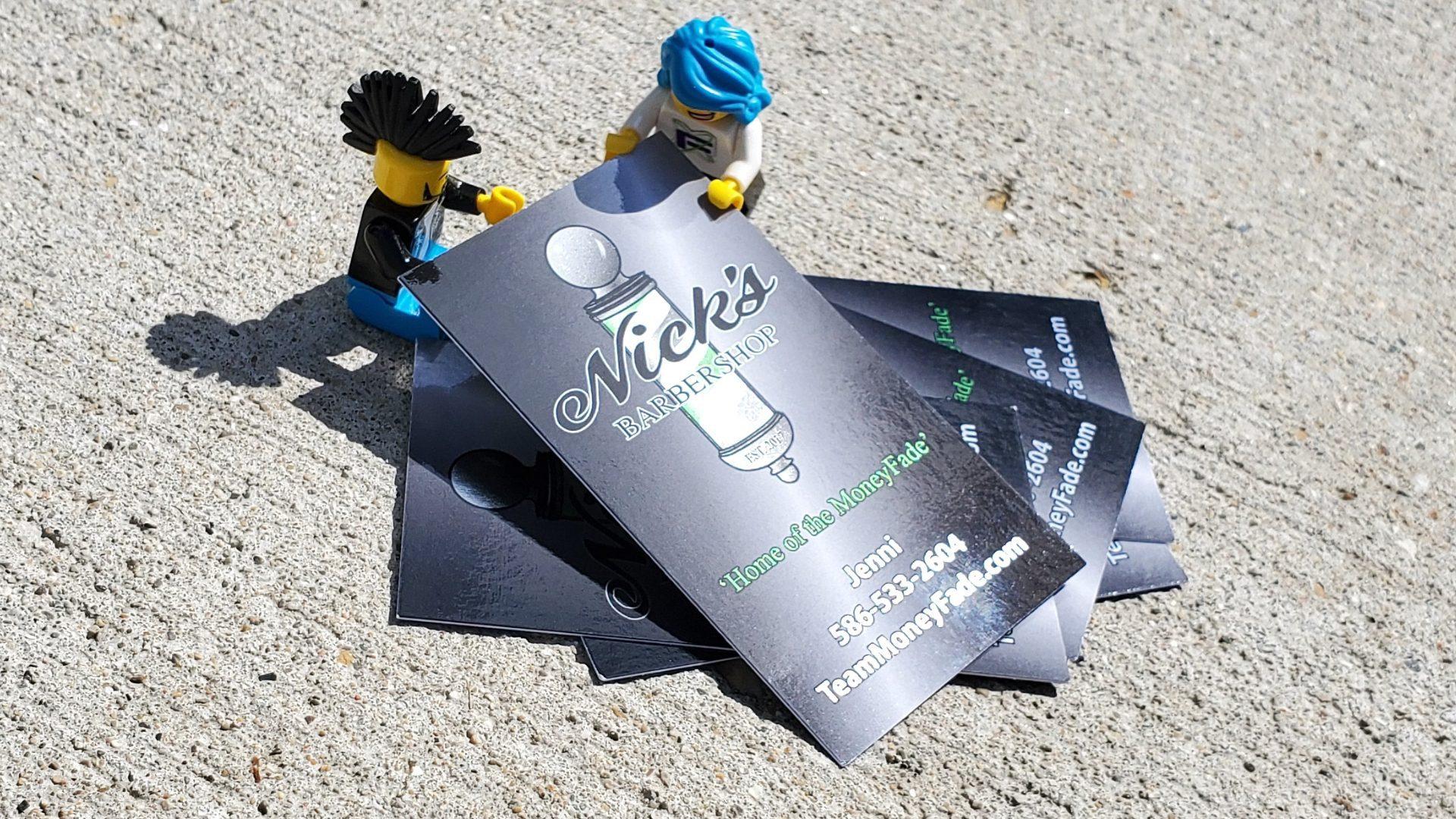 Nicks Barbershop - Jenni Card Lego Mockup 02