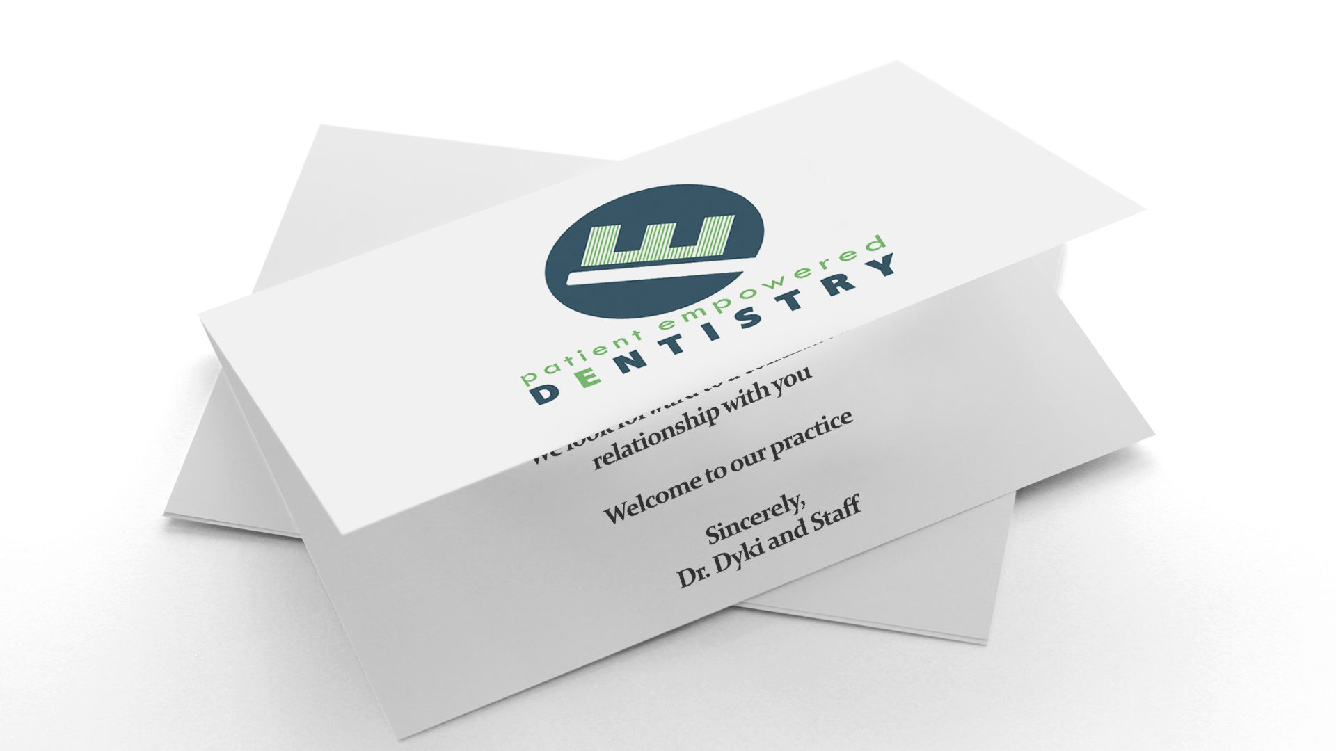 Patient Empowered Dentistry - New Patient Cards Mockup 01