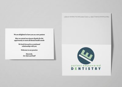 Patient Empowered Dentistry - New Patient Cards Mockup 02