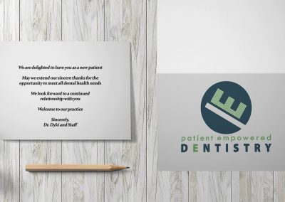 Patient Empowered Dentistry - New Patient Cards Mockup 03