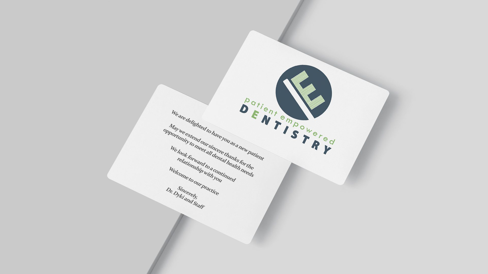 Patient Empowered Dentistry - New Patient Cards Mockup 04