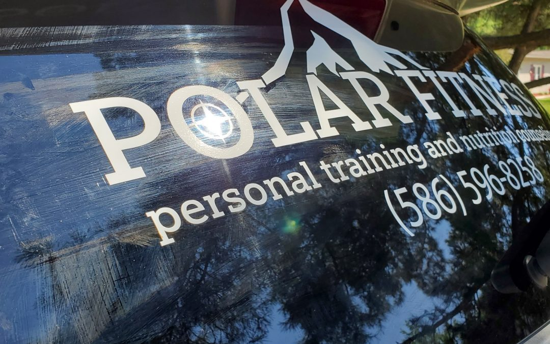 Polar Fitness – Ford Explorer Window Graphics