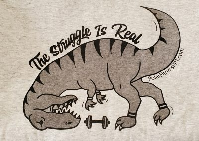 Polar Physical Therapy and Fitness - T-Rex Shirt 03