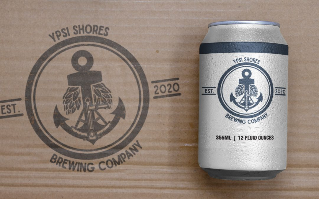 Ypsi Shores Brewing – 16 oz Can Design