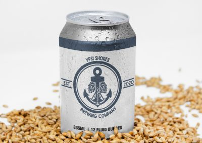 Ypsi Shores Brewing - 16 oz Can Label Mockup 03