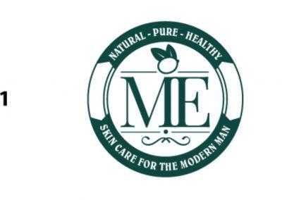 ME - Crest Logo Concept 01