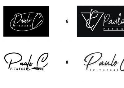 Paulo C Fitness - Logo Concepts 01