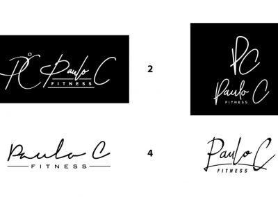 Paulo C Fitness - Logo Concepts 02