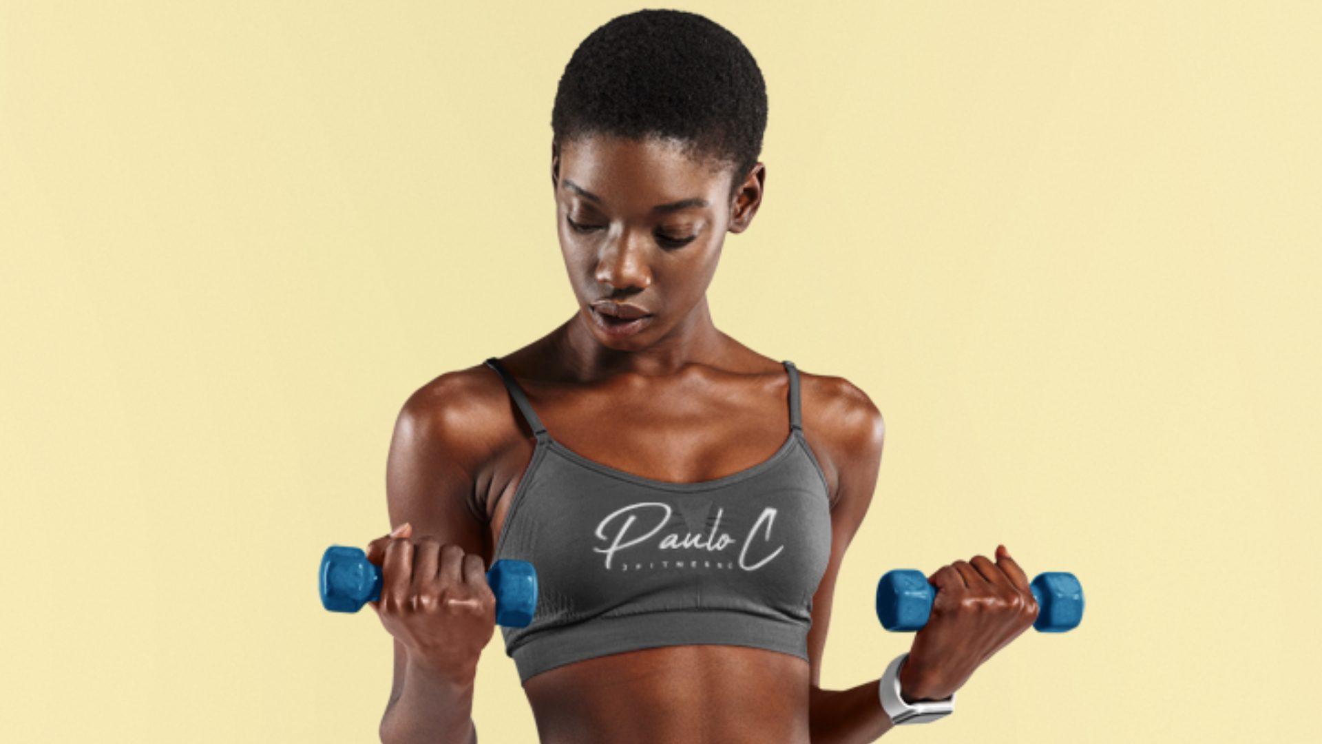 Paulo C Fitness - Logo Mockup 01