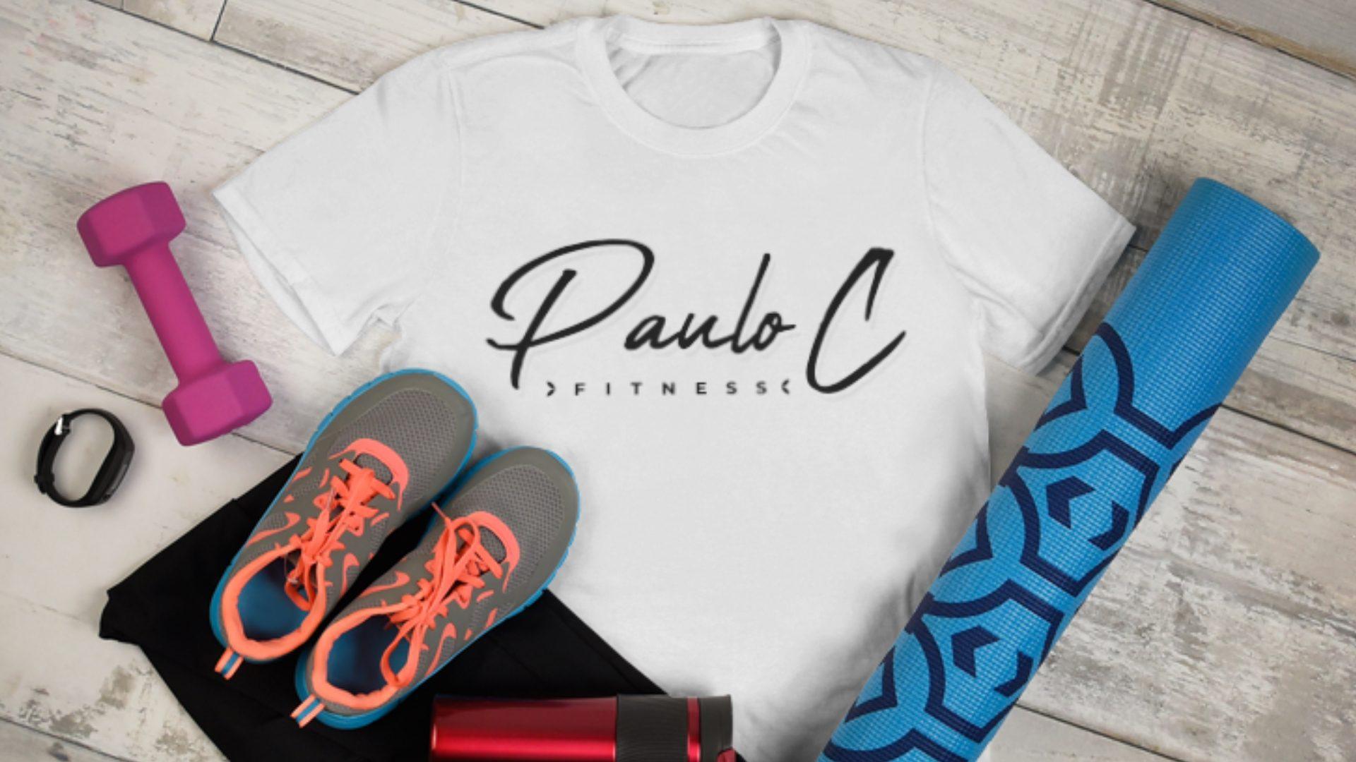 Paulo C Fitness - Logo Mockup 03