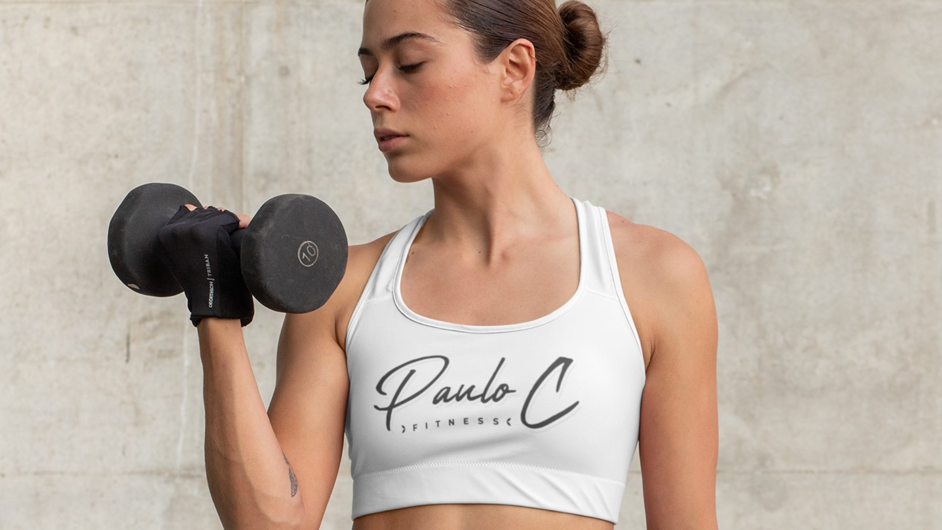 Paulo C Fitness - Logo Mockup 06