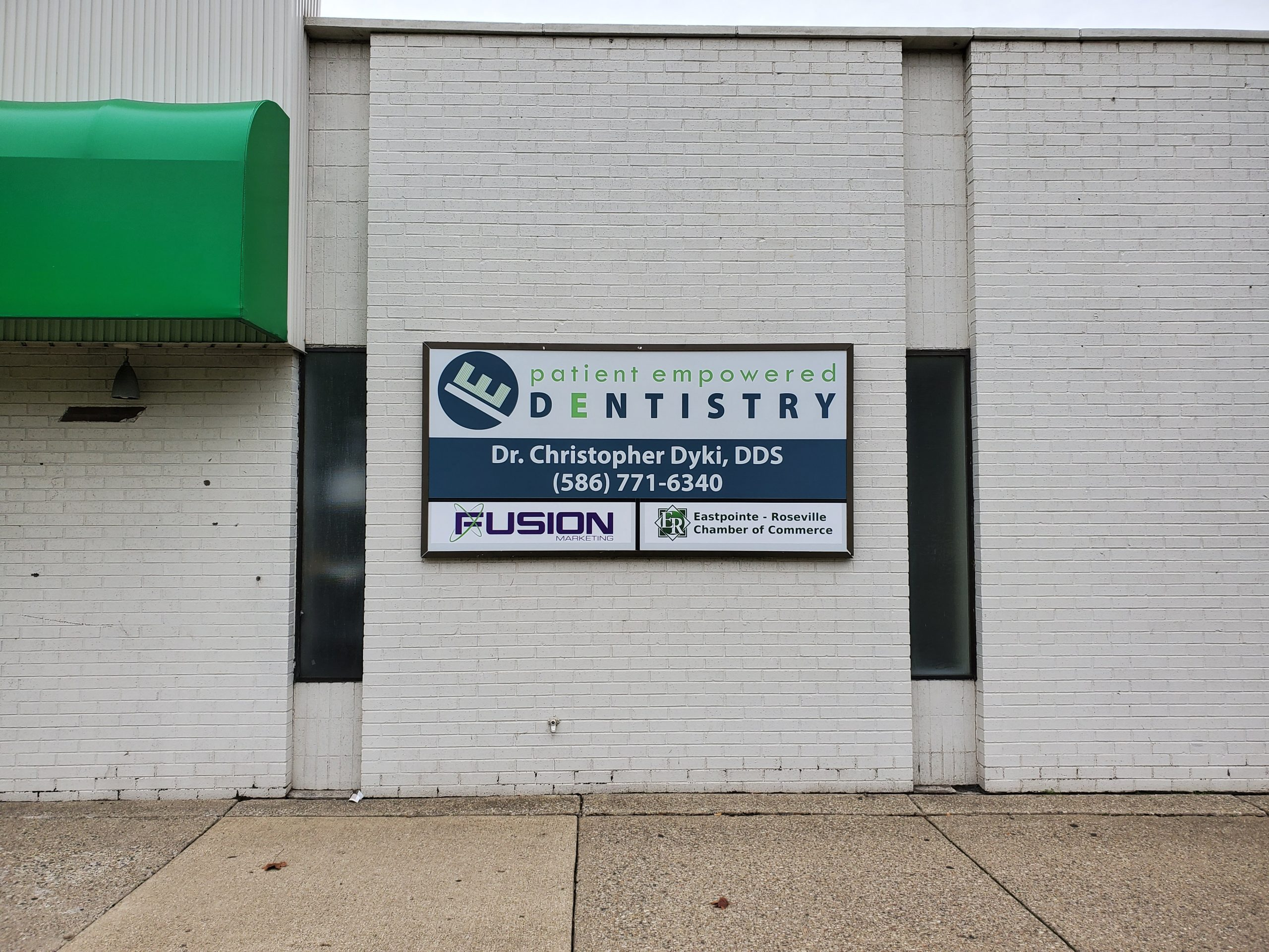 PED Fusion ERCH Signage