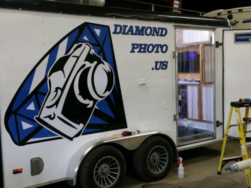 Diamond Photo – Small Trailer Graphics