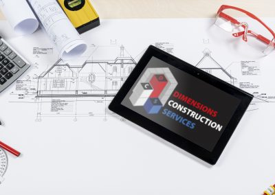 Dimensions Construction Services - Logo Mockup (1)