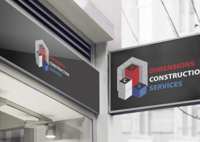 Dimensions Construction Services - Logo Mockup (2)