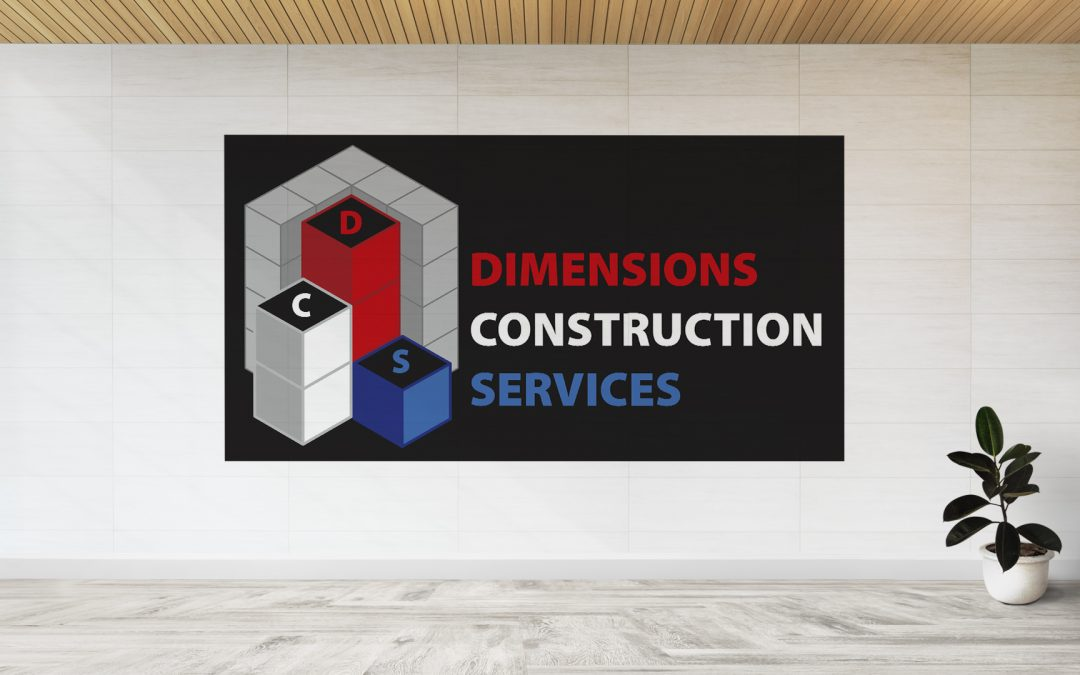 Dimensions Construction Services – Logo