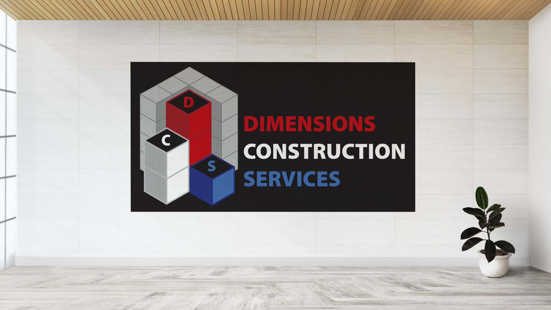 Dimensions Construction Services - Logo Mockup (3)