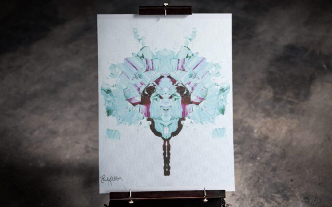 Emily Alber Art – Alien face