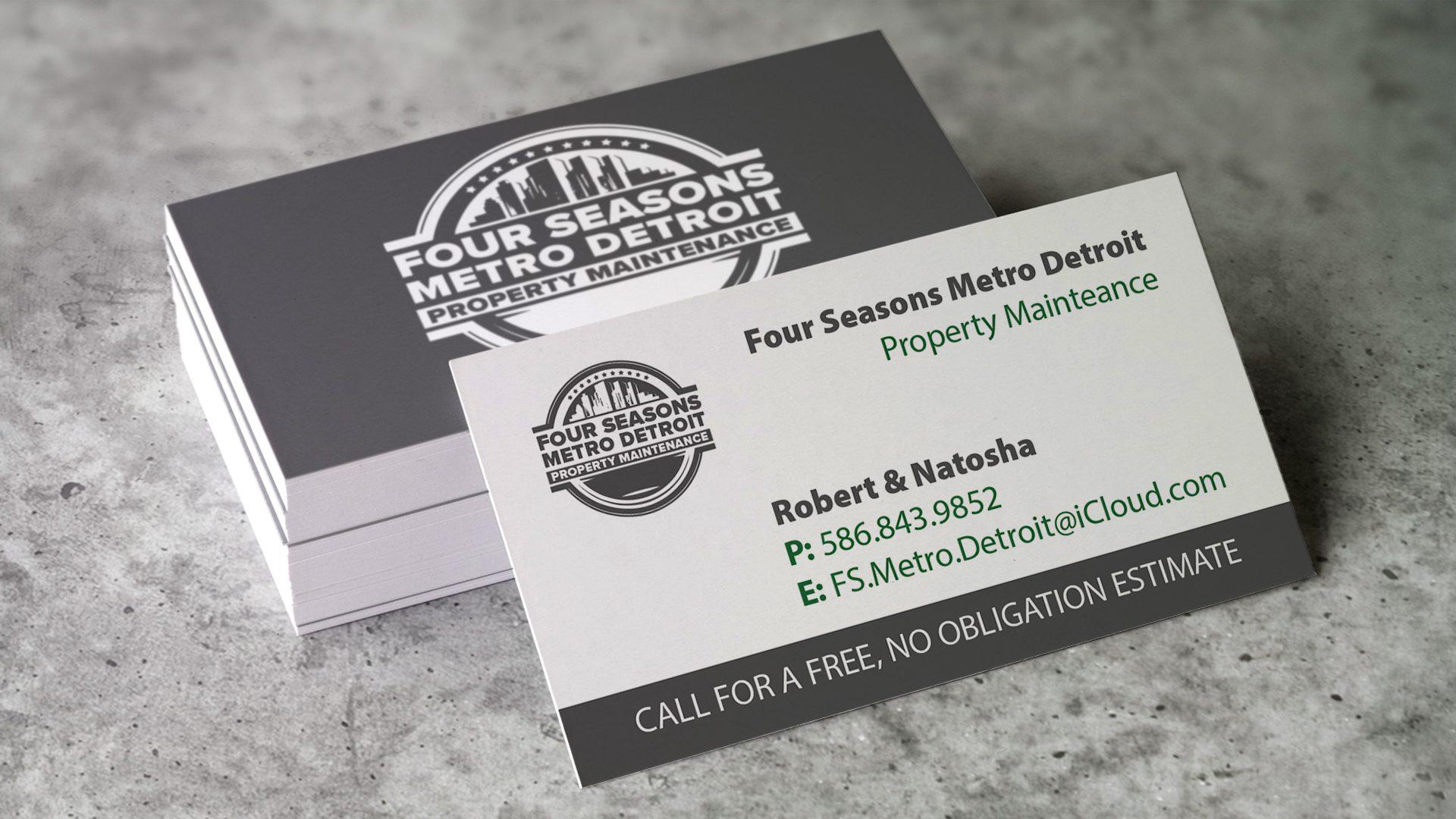 Four Seasons Metro Detroit - Robs Business Card Mockup (1)