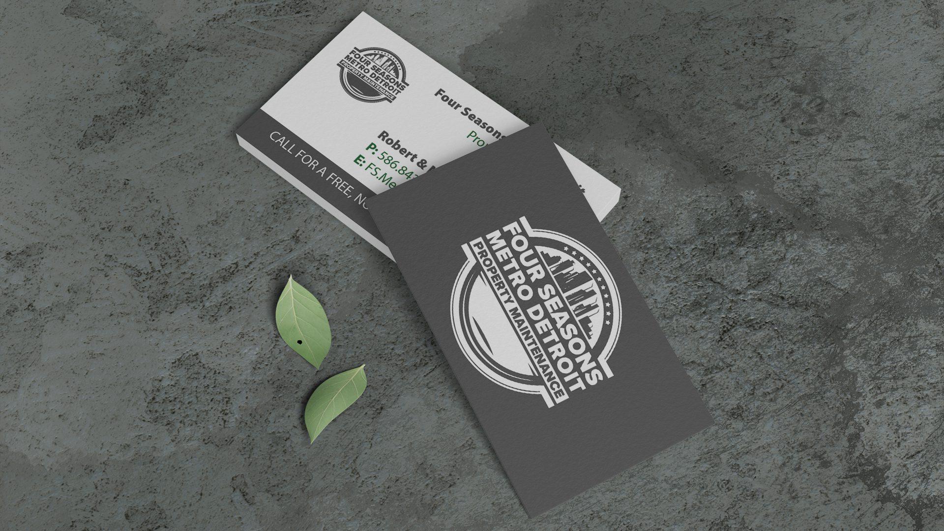 Four Seasons Metro Detroit - Robs Business Card Mockup (2)