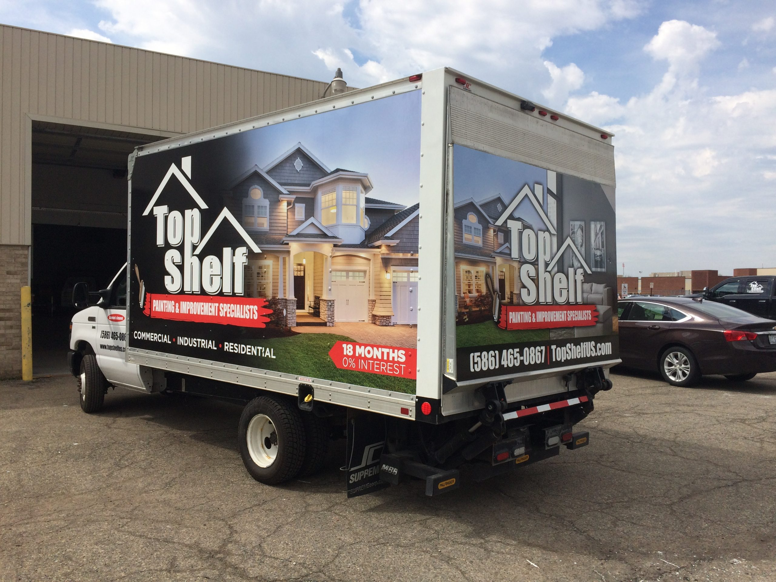 Top Shelf Painting Fleet Graphics