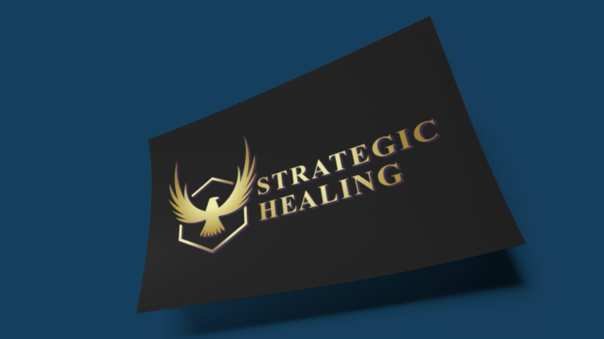 Strategic Healing - Eagle Logo Mockup 01