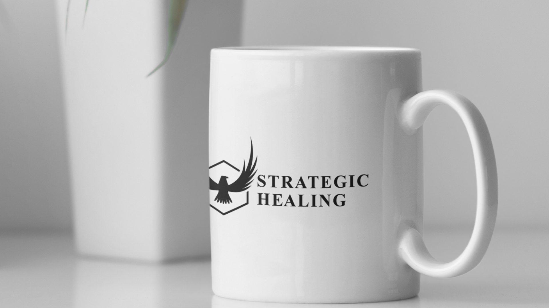 Strategic Healing - Eagle Logo Mockup 03