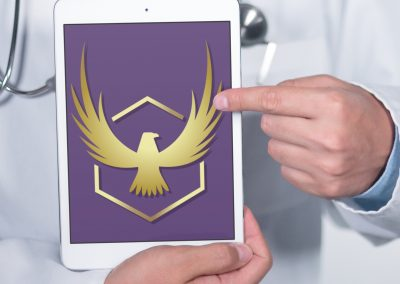 Strategic Healing - Eagle Logo Mockup 04