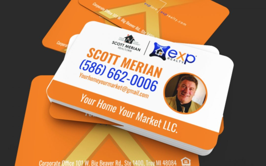 Your Home Your Market LLC  – Scott Merian's Cards