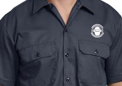 Arc Junkies - Silkscreen Work Shirts (2)