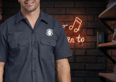 Arc Junkies - Silkscreen Work Shirts (3)