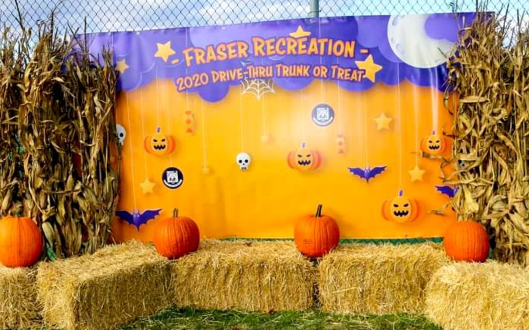 Fraser Parks Recreation – Halloween Banner