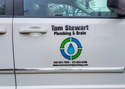 Tom Stewart Plumbing Van Fleet Graphics (3)