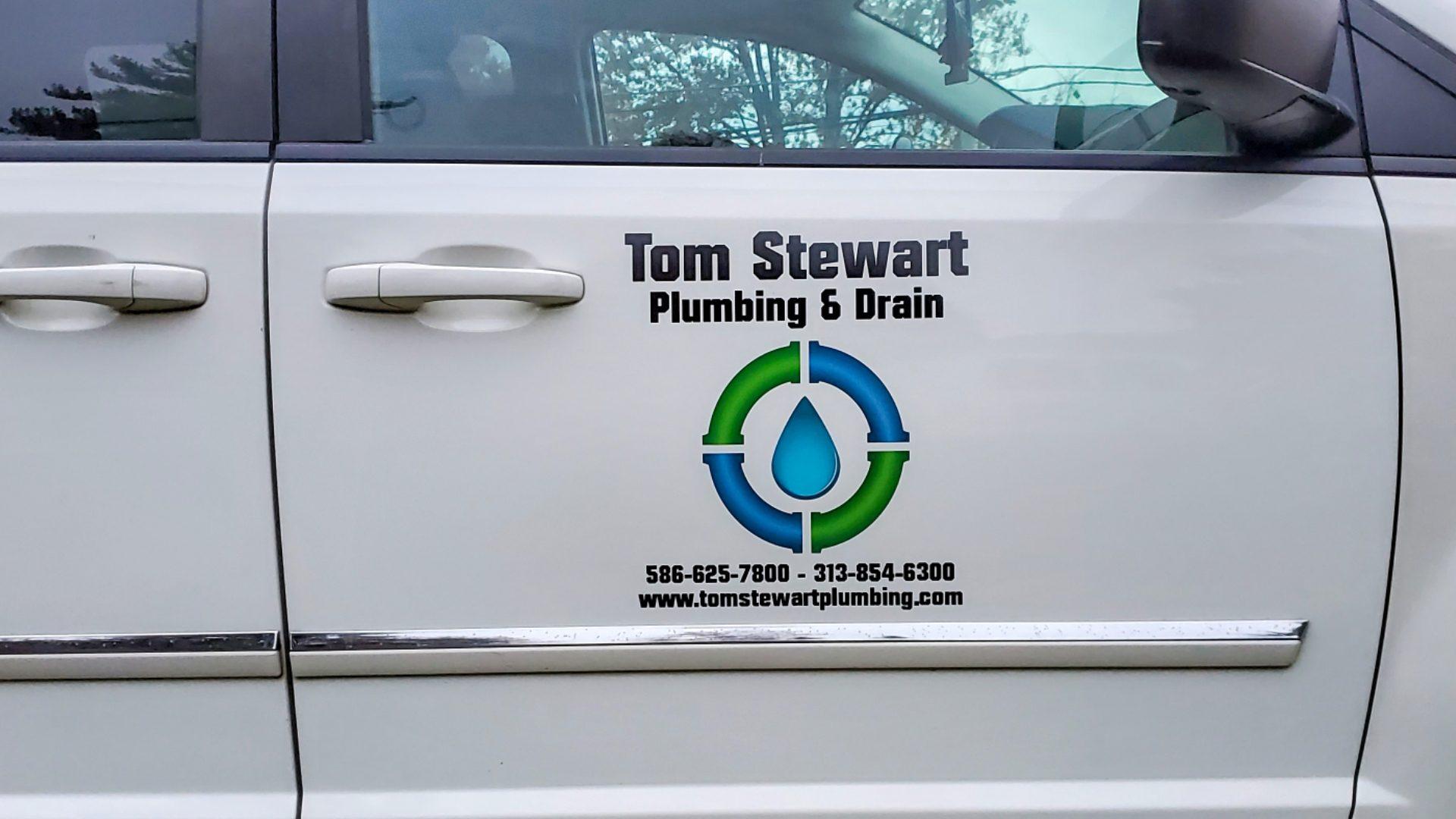 Tom Stewart Plumbing Van Fleet Graphics (3)
