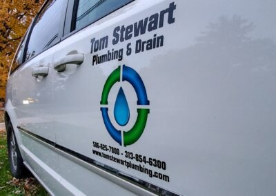 Tom Stewart Plumbing Van Fleet Graphics (5)
