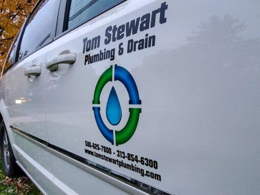 Tom Stewart Plumbing – Work Truck Fleet Graphics