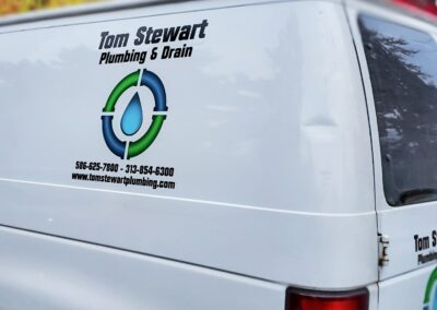 Tom Stewart Plumbing Van Fleet Graphics (8)