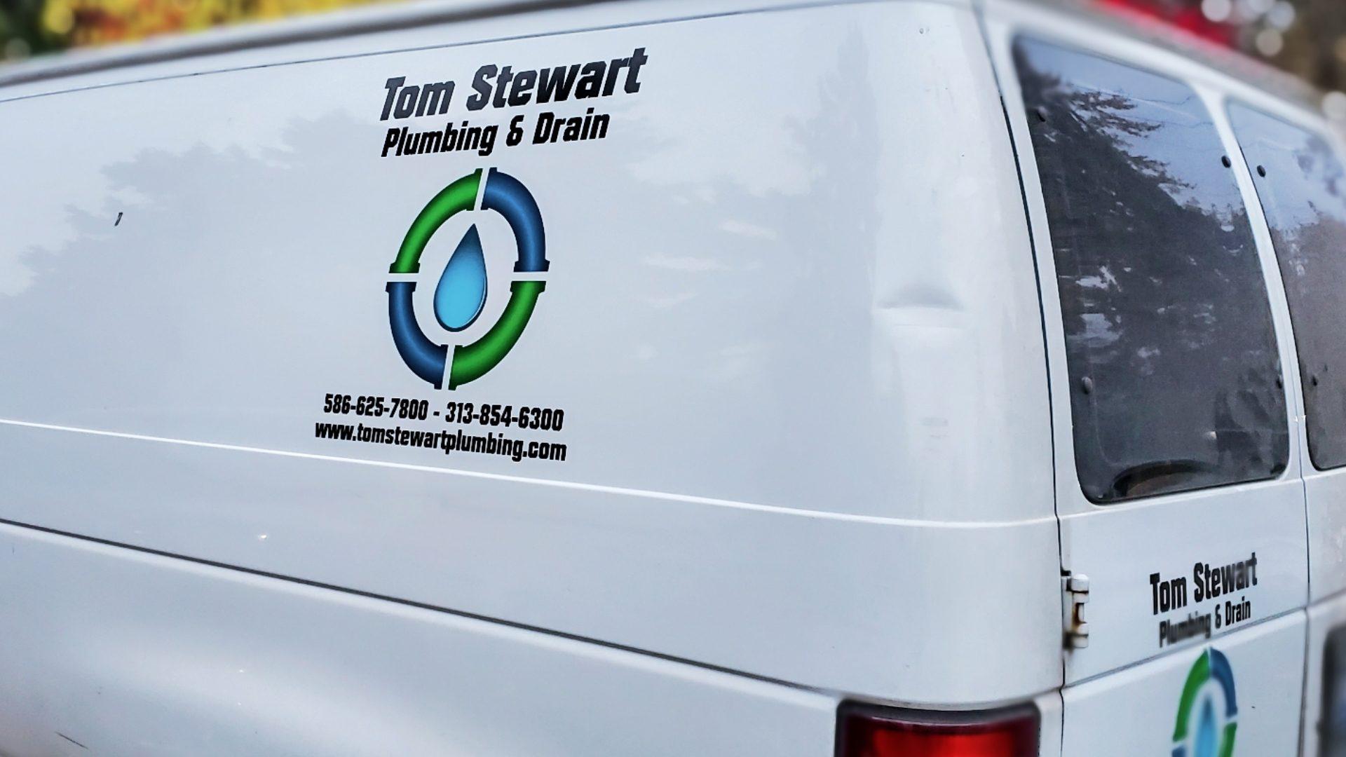 Tom Stewart Plumbing Van Fleet Graphics (8)