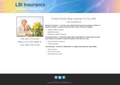 LSI Insurance - 2020 Website - BEFORE
