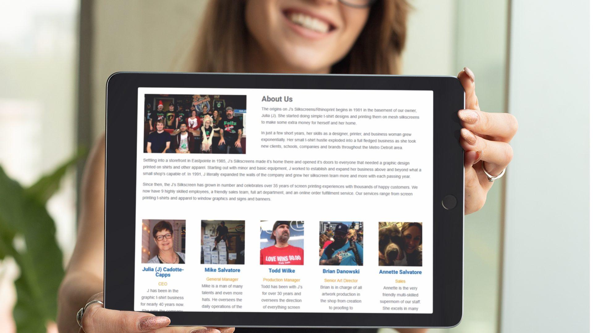 Js Silkscreens Eastpointe - Responsive Website Design (5)
