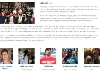Js Silkscreens Eastpointe - Staff Bio