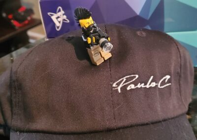 Paulo C Fitness - Logo Embroidery Hats (3)