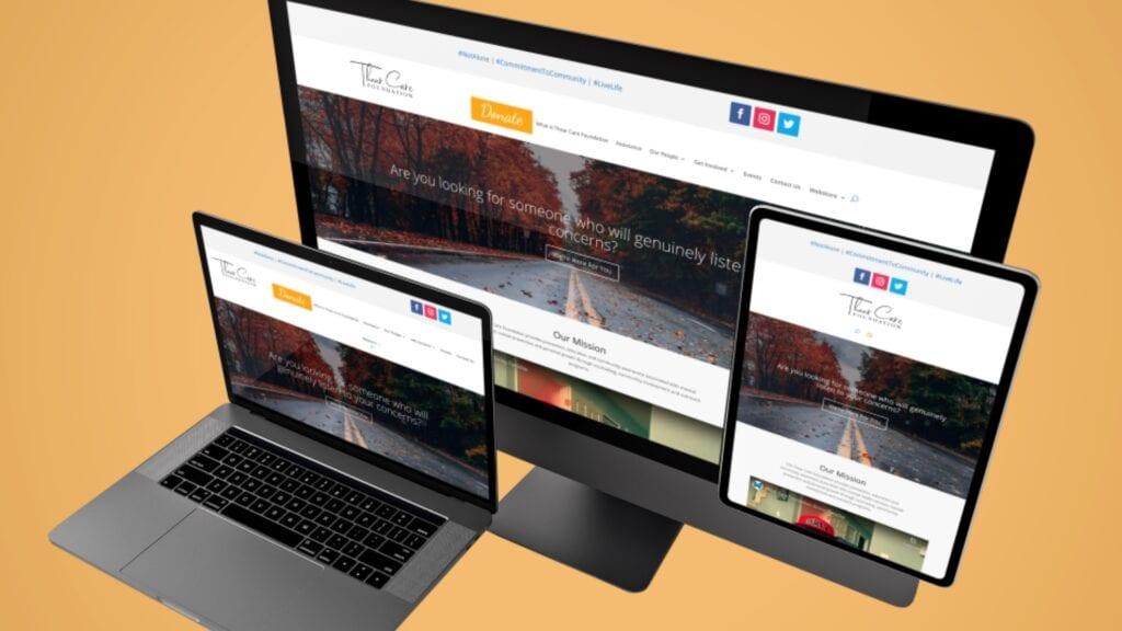 Thaar Care Foundation Inc. - Website Mockup (2)