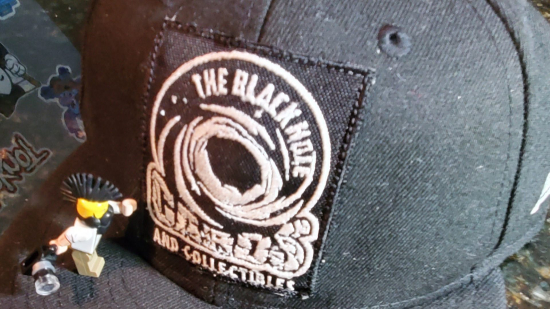 The Black Hole - Embroidered Hat (5)