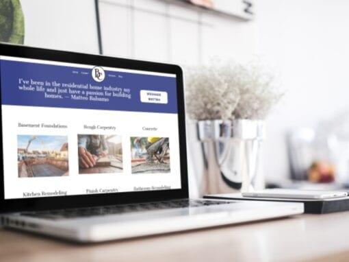 Balsamo Construction Website