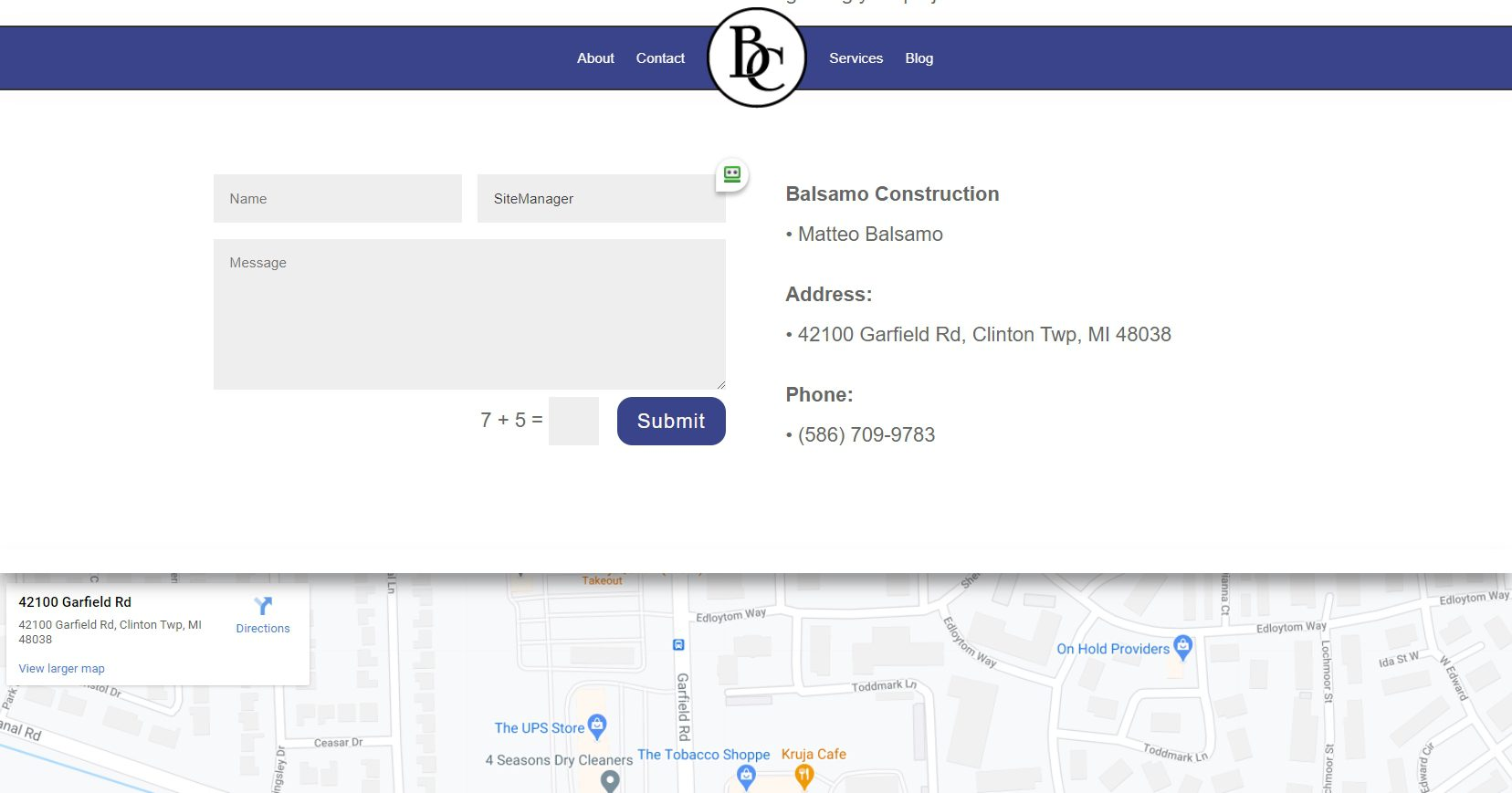 Clinton Township Michigan Construction Website (7)
