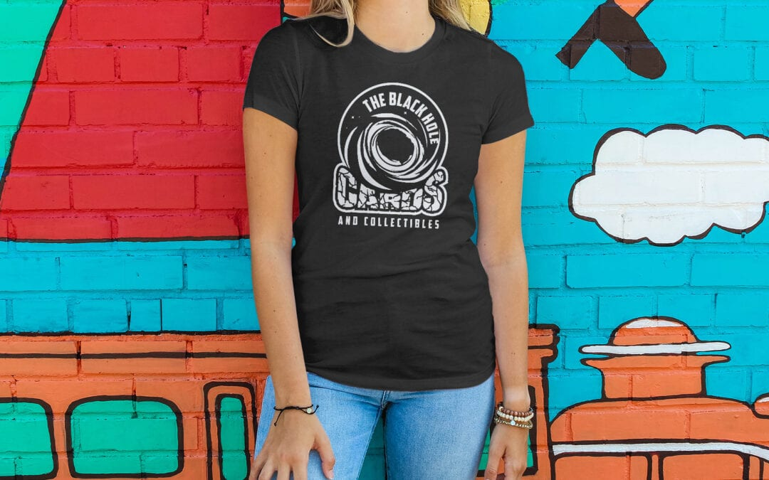 The Black Hole Comics – Tee Shirts